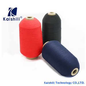 75D/36F/2 High Tenacity Dty Yarn , High Tenacity Polyester Sewing Thread