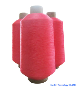 High Quality Dope Dyed Color High Tenacity 75D/36F/2 Polyester Yarn for Sports Shoes Area