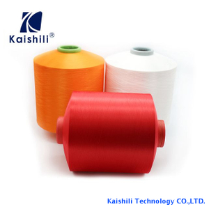 Hot sell color 150D Polyester DTY Yarn With high quality