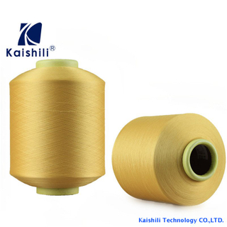 Polyester Single Spandex Covered Yarn SCY 4075 For Knitting Supplier