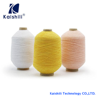 China Manufacturer Nylon Spandex Double Covered Yarn Elastic Rubber Covered Yarn