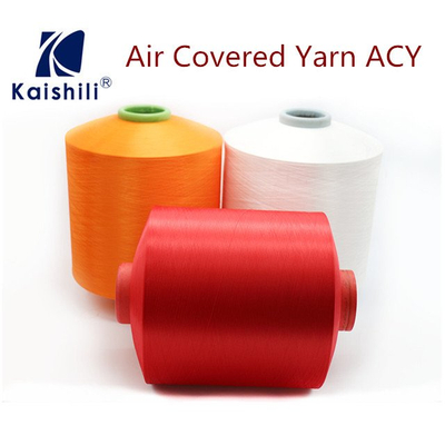 Air spandex covered Polyester Yarn 3075 from China