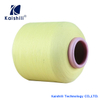 Semi-dull Polyester Dyed Air Covered Yarn 2075 Spandex Covered Yarn for Socks