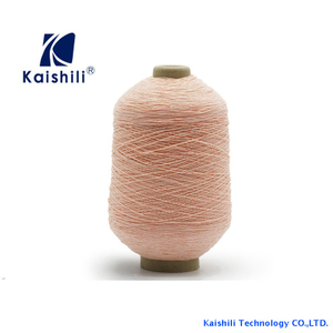 Polyester Latex Covered Yarn 63#/150D/150D for Making Gloves