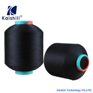 Polyester Single Spandex Covered Yarn SCY 20100 For Knitting Chinese manufacturer