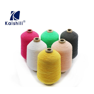 63#/150D Knitting Latex Rubber Covered Filament Polyester Dty Yarn for Socks And Gloves