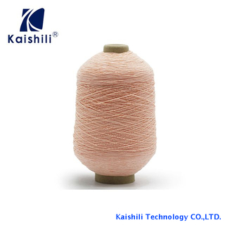 China Manufacturer Polyester Rubber Covered Yarn High Elastic Yarn for Socks Knitting