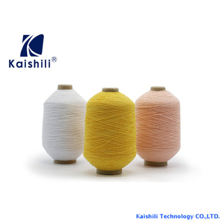 110# Latex Rubber Covering Polyester Yarn For Knitting Gloves Socks Manufacturer