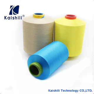 Manufactuer 4070D Air Covered Knitting Tape Colour Yarns