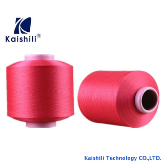 Factory price polyester covered spandex yarn for socks