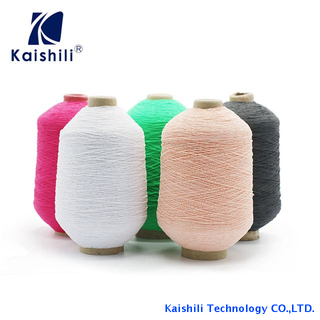 Moderate Price Double Covered Spandex Yarn/ Rubber Covered Yarn with AA Grade From China Manufacturer