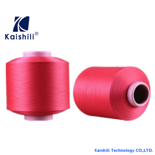 Nylon Single Spandex Covered Yarn SCY 3070 For Knitting Sipplier