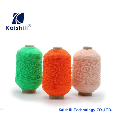 Factory Price Elastic Yarn Eco-friendly 110# Latex Rubber Covered Nylon Yarn For Knitting Socks Gloves Belts